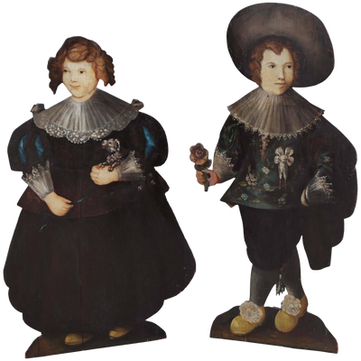 Pair of 19th Century Dummy Boards