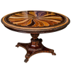 Anglo Indian Specimen Wood Center Table