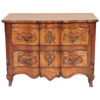 French Provincial Walnut Miniature Commode