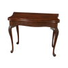 Fine George II Mahogany Serpentine Scroll Foot Game Table