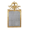 French Directoire Carved Gilt Wood Mirror