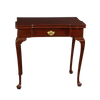Queen Ann Mahogany Card Table