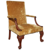 George III Mahogany Gainsborough Chair