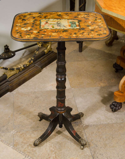 Regency Chinoiserie Tilt Table