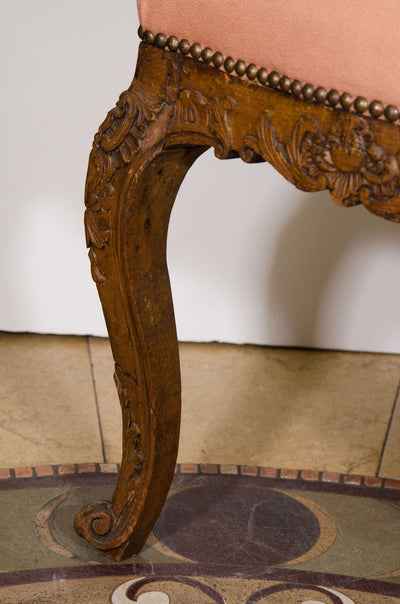 Louis XV Carved Stool