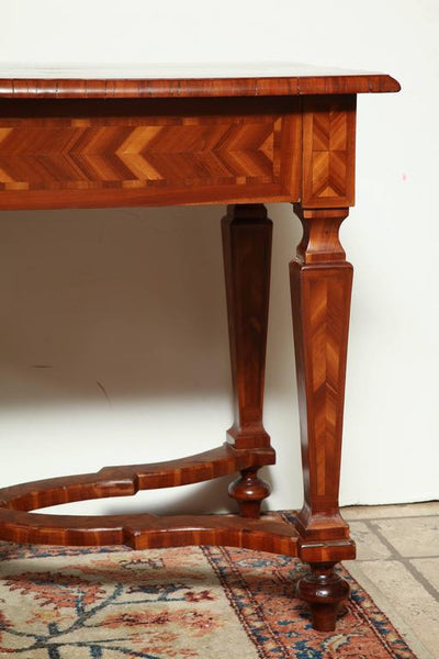 Italian Inlaid Center Table