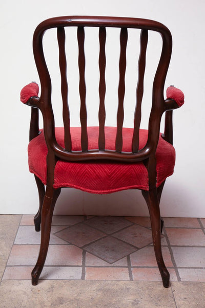 George III Carved Desk Chair