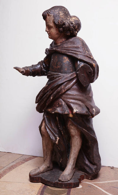 17th Century Italian Carved Figure