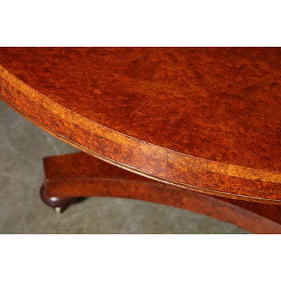 William IV Round Centre Table