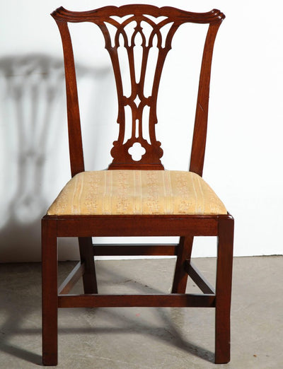 Set of 8 George III Mahogany Dining Chairs