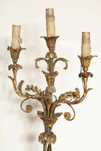 Pair of French Louis XVI Candelabra