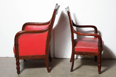 French Empire Suite of Armchairs