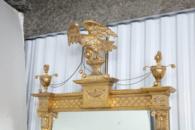 Federal Giltwood Pier Mirror