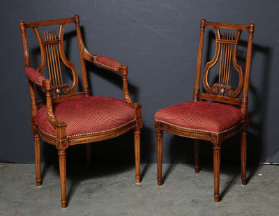 Set of 12 Louis XVI Dining Chairs