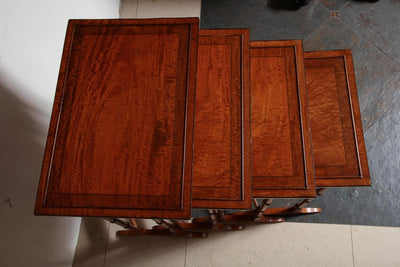Regency Satinwood Nesting Tables