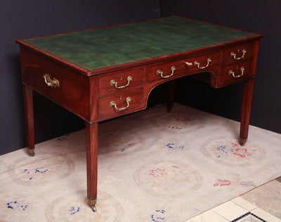 George III Mahogany Desk