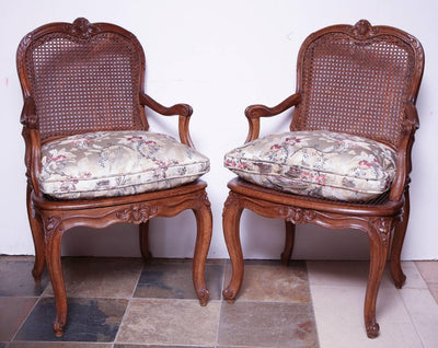 Pair of Louis XV Fauteuil's