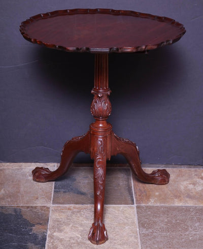 George II Pie Crust Table