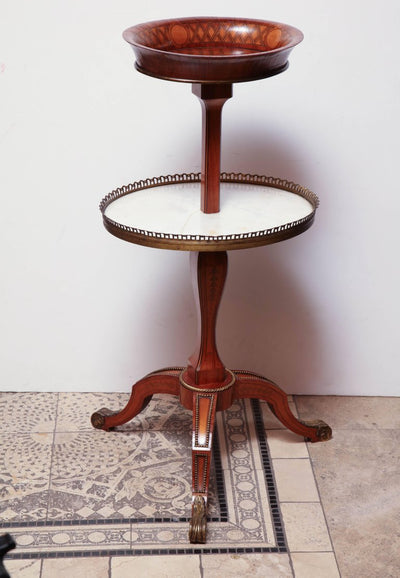Unusual Louis XVI Two-Tier Table
