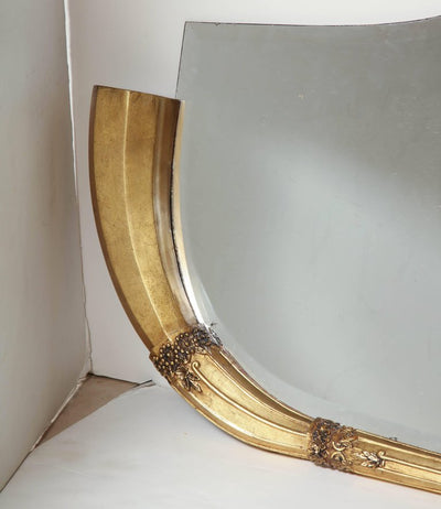 Art Deco Overmantle Mirror
