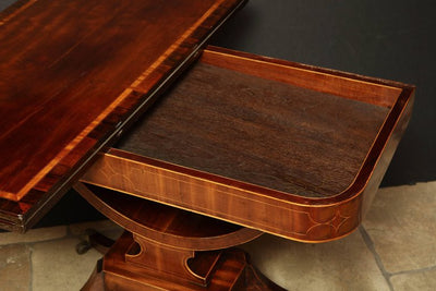 Pair of Regency Card Tables