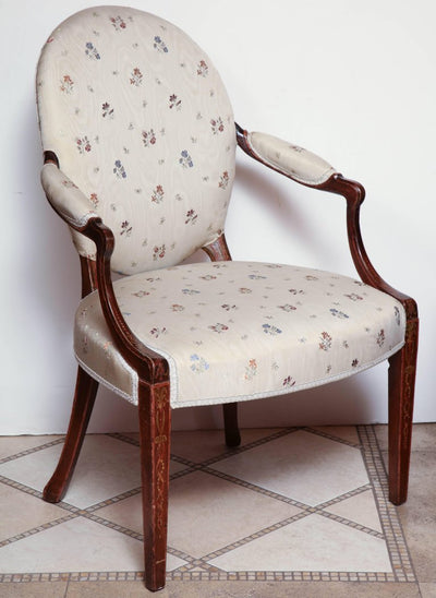 Pair of George III Armchairs