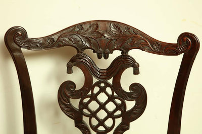 Set of Four Irish George III Side Chairs