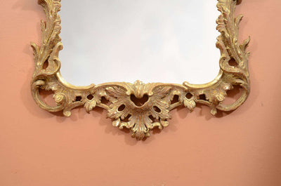 George II Chippendale Giltwood Mirror