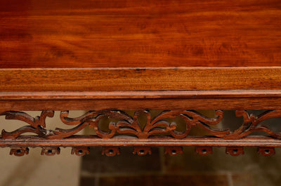 Fine George II Mahogany Silver Table