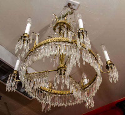Baltic Six Light Chandelier