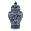 Chinese Blue and White Small Dragon Jar