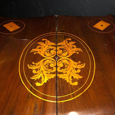 Dutch Neoclassic Inlaid Card Table