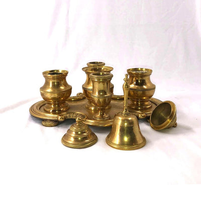 Gilt Bronze Desk Set