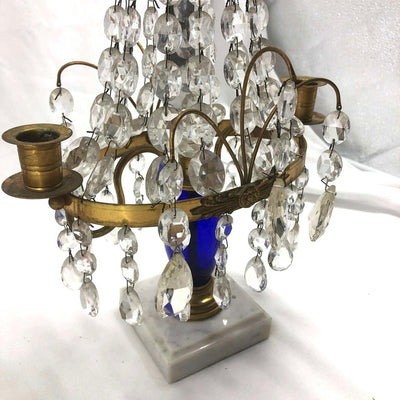 Pair of Baltic Candleabra