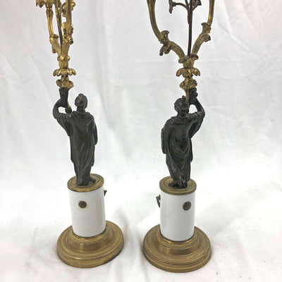 Pair of Regency Candelabra