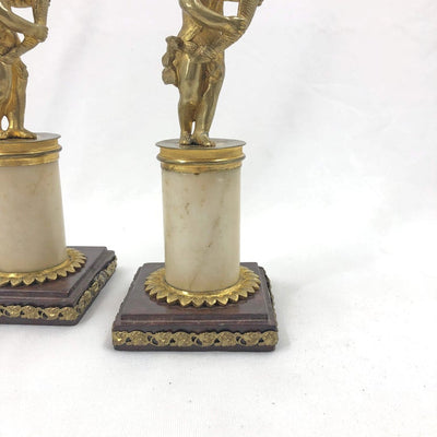 Pair of French Louis XVI Candlesticks