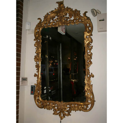 A Very Fine George II Carved Gilt Wood Mirror