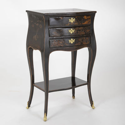 Pair of Louis XV Chinoiserie Petit Commodes