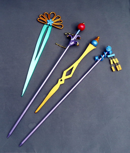 Final Fantasy Lulu Hair Stick Set