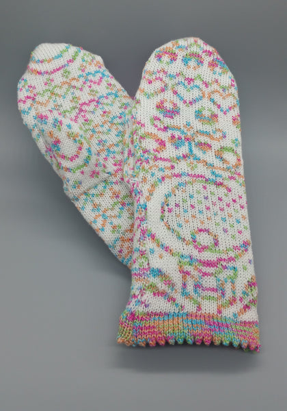 Sailor Moon Fair Isle Mittens
