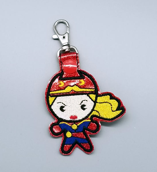 Captain Marvel Key Fob