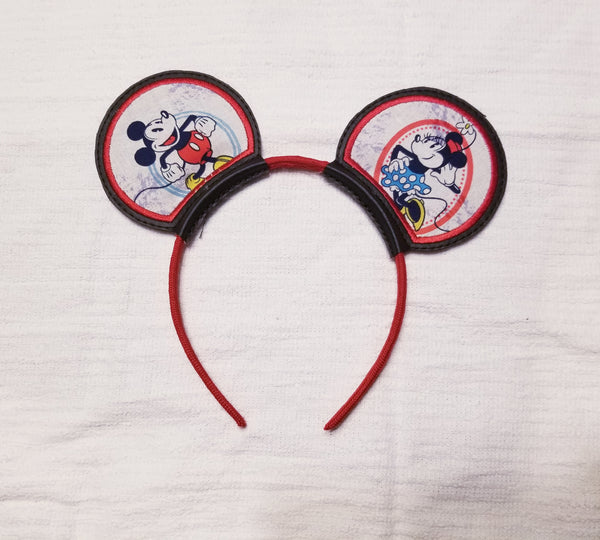 Mickey and Minnie Mouse Ears
