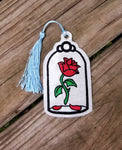 The Beast's Rose Bookmark