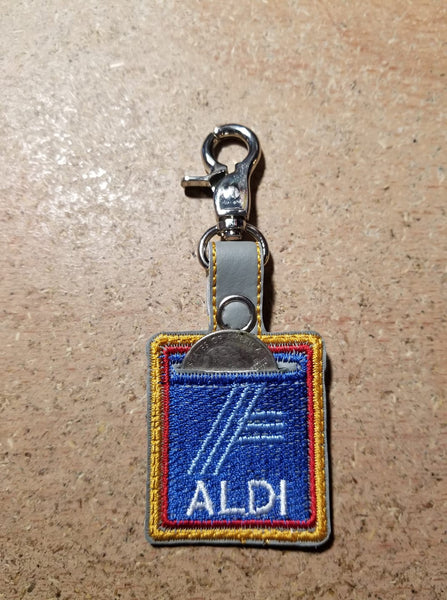 Aldi Quarter Holder Key Fob