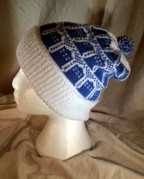 Doctor Who Fair Isle Knit (sparkle version)