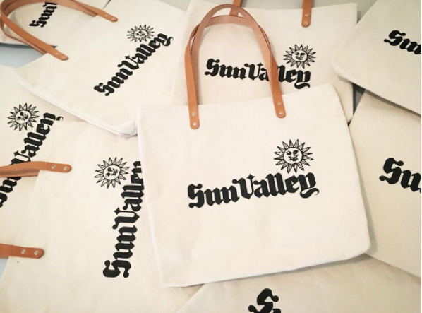 Sun Valley Resort Custom Feed Bags