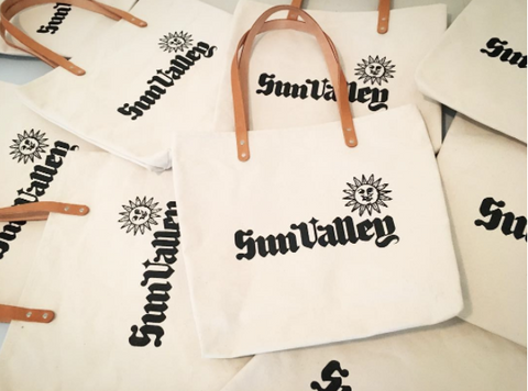 Custom Sun Valley Idaho Feed Bags