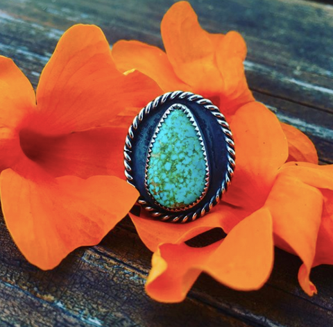 Winthrop's Daughter turquoise jewelry
