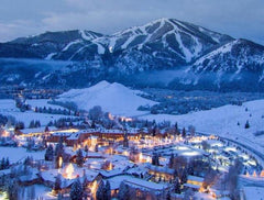 Sun Valley Idaho in Winter