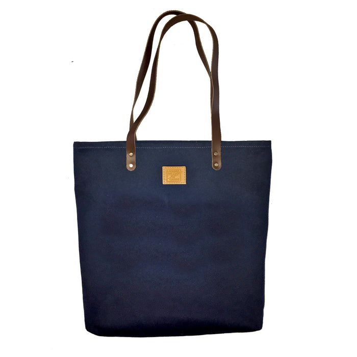 Midnight Blue Canvas Feed Bag
